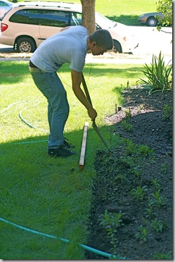 lawn edging saves time