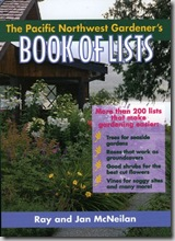 pac northwest gardeners book of lists