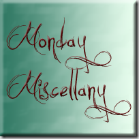 Post image for Monday Miscellany: It's Giveaway Week!