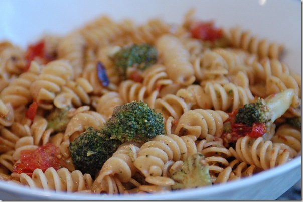 Post image for Summertime Cooking: Mustard Butter Pasta with Fresh Garden Vegetables